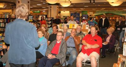 author event at Barnes & Noble Grossmont