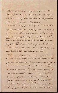 Gettysburg Address, Hay copy