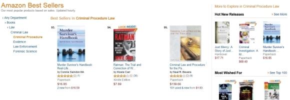 Amazon.com Best Seller: Murder Survivor's Handbook: Real-life Stories, Tips & Resources