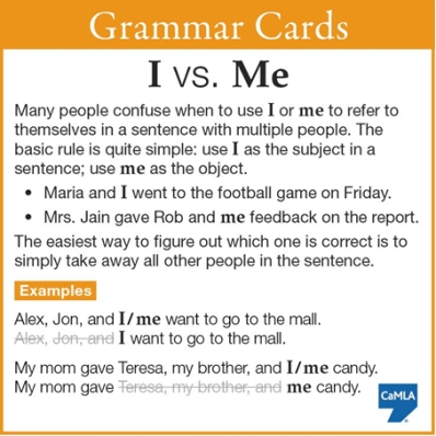 grammar-cars-i-vs-me